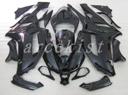Custom Zx636 Australia - New ABS Fairings kits fit for kawasaki 07 08 ZX 6R 636 2007 2008 Ninja ZX6R ZX636 600cc fairing set custom all black glossy