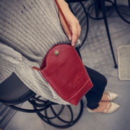 Passport Shoulder Bag NZ - Women's Single Shoulder Bag Fashion Retro PU Leather Messenger Crossbody Passport Bag purse Mini Phone