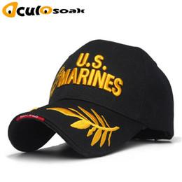 $enCountryForm.capitalKeyWord Australia - Tactical Us Marines Hat Men Us Army Baseball Cap Outdoor Snapback Caps Adjustable Navy Seal Casquette Tactical Bone