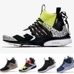 $enCountryForm.capitalKeyWord NZ - Best quality ACRONYM X Air Presto Mid V2 Running Shoes Mens Yellow Black White Darts Street Sneakers Womens Camouflage Graffiti Boots 36-45