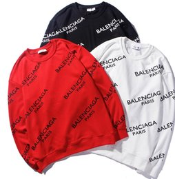 Fighting Australia - XX66 BALENCIAGA YSL brand hoodies long sleeves fight color kanye west Men's Hoodies men and women loose couple sweater