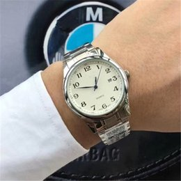pvd wrist watches Australia - Hot Promotion Sale luxury Watch Mens Watches Auto Date PVD Case High Quailty Quartz Movement Luxury Mens Wrist Watch Free Shipping