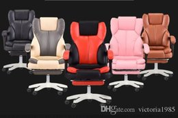 $enCountryForm.capitalKeyWord Australia - Hot sell High Quality Office Boss Chair Ergonomic Computer Gaming Chair Internet Cafe Seat Household Reclining Chair