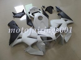 matte black cbr fairings Australia - 4Gifts Custom Free Injection Mold New ABS Motorcycle Fairings Kits Fit for HONDA CBR600 2005 2006 CBR600RR F5 CBR 06 Matte White and Black
