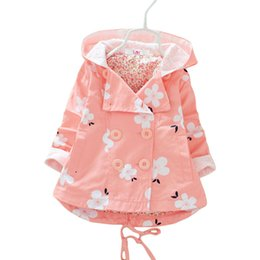 $enCountryForm.capitalKeyWord NZ - 2018 Children Clothing Autumn Toddler Baby Girls Coat Jacket For Girls Hoodies Kids Clothes Windbreaker Outerwear 2 3 5 6 Years