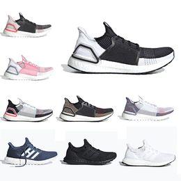 b21c7b96a 2019 alta calidad Ultra Boost 4.0 3.0 triple Negro Blanco Primeknit Rojo  Parley Hombres Mujeres zapatos para correr Boost Bottom Primeknit Runs  Blanco