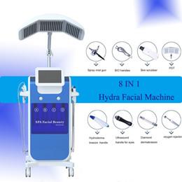 Home oxygen facial macHine online shopping - Hydra facial machine Deep Cleansing Hydrodermabrasion Oxygen Water aqua Jet Peel dermabrasion home machine skin rejuvenation