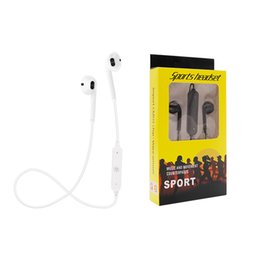 $enCountryForm.capitalKeyWord UK - Wireless Bluetooth headphones Sports Running Magnetic Universal Bluetooth Headset With Mic MP3 Earbud BT 4.1 For iPhone Samsung