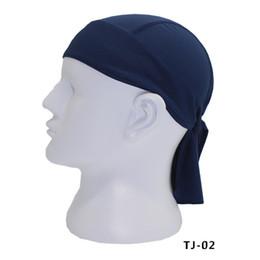 Workout headbands online shopping - New Men Fashion Quick Dry Beanie Snood Hip Hop Caps Pirate Head Scarf Hat Turban Workout Cycling Sports Magic Headband Muffler