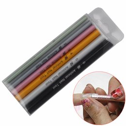 hot rod kits Canada - Nail Art & Tools Sets & Kits Hot Sale!! 6 Pcs Nail Art Tools Set Different Size Form Curve Rod Sticks Artificial