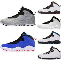 Zapatillas de baloncesto para hombre 10 Tinker Cemento 10s zapatos para  hombre Bobcats Gris chicage Gris frío iam espalda Zapatillas azules  deportivas ... 21b54910d