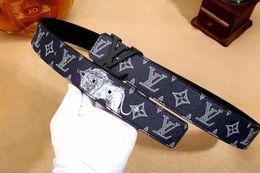 $enCountryForm.capitalKeyWord NZ - 3583 Design Belt Men and Women Fashion Belts Genuine Leather Luxury Belt Brand Waist Belts Gold Silver Black buckle110-125cm