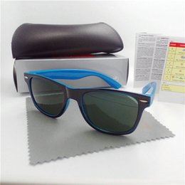 $enCountryForm.capitalKeyWord Australia - High quality Brand Designer Fashion Big frame Sunglasses For Men and Women Sport Vintage Sun glasses With box and Case 51