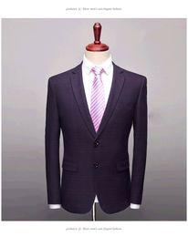 $enCountryForm.capitalKeyWord Australia - British Style Men Blazer Jacket Fashion 2019 Slim Fit Casual Men Dress Suit Jackets Long Sleeve Business Formal Wear Tuxedo 3XL dsy119