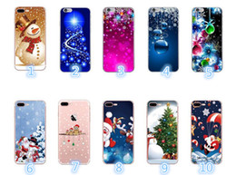 elderly mobile phones 2019 - New mobile phone shell for Christmas elderly elk snowflake gift TPU soft shell for Mobile Phone For iPhone X XR XSMAX ch
