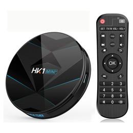 Hk1 mini plus Android 9.0 TV Box Ram RK3318 4k Dual wifi Bluetooth4.0 4GB 64GB on Sale