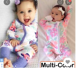 jumpsuit babies Australia - New Many Styles Colors Onesies Baby Printed Rompers One Piece Onesies Infant Toddle Jumpsuits Cute Kids Climbing clothes free fast shipping