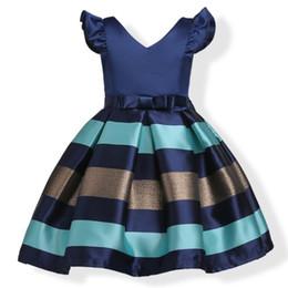 Discount elegant princess gowns for kids - Elegant Baby Girls Dress For Girl Wedding Party Dresses Infant Kids Princess Dress Summer Children Girls Clothing 3-12 y