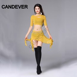Wholesale belly dancers clothing for sale - Group buy oriental costumes for belly dancing women costume set top skirt professional sexy Bellydance Clothes practice Dancer Wear