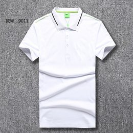$enCountryForm.capitalKeyWord Australia - #1303 Summer Fashion Men Business Polo Cotton Short Sleeve Tees Designer Sweatshirt Luxurious Men's Outdoor Casual Polos Shirts
