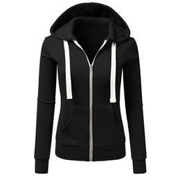 $enCountryForm.capitalKeyWord UK - Jackets Women Winter Long Sleeve Patchwork Solid Black Pink Zipper Ladies Casual Sport Cardigan Hooded Coat Jaqueta Feminina
