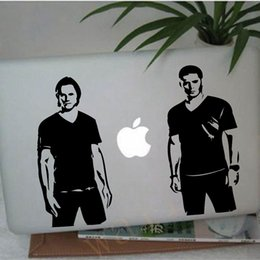 $enCountryForm.capitalKeyWord UK - stickers chinese free shipping supernatural wall art decor , supernatural Sam and Dean Winchester vinyl decal stickers