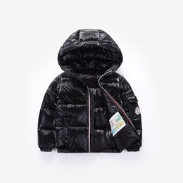 velvet clothing line Australia - Baby Boy clothes Boys Winter Coat Kids Hooded Jacket Children Plus Velvet Jacket 3-12 years old Children's fashion down clothes
