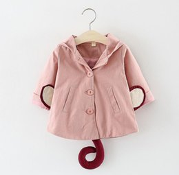$enCountryForm.capitalKeyWord Australia - New spring and autumn girls jacket 2019 spring girls cotton cardigan jacket baby card ventilation clothing children's clothing