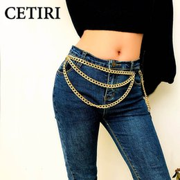 $enCountryForm.capitalKeyWord NZ - CETIRI 2019 Luxury Women's Gold Metal Chain Long Tassel Belt Female Multilayer Waistband Dress Belt Straps Wedding Accessories