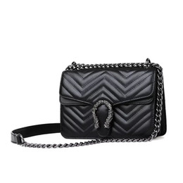 Pu bags manufacturers online shopping - Manufacturers of cross border direct marketing for new fashion chain style single shoulder bag slant shoulder bag small square