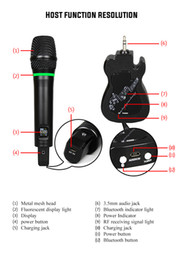 $enCountryForm.capitalKeyWord Australia - UHF Guitar Wireless Handheld Dynamic Microphone GT-100 for Karaoke Nights and House Parties to Have Fun Over the Mixer PA System Speaker