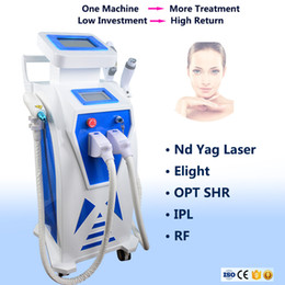 $enCountryForm.capitalKeyWord NZ - 3 handles IPL OPT face body laser hair removal machine YAG eyebrow wash tattoo pigmentation removal Elight RF IPL skin care equipment