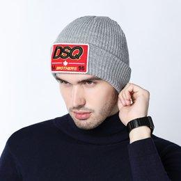 $enCountryForm.capitalKeyWord Australia - High Quality DSQICOND2 Warm Beanies Hats For Men Women Couple Winter Ski Bone Cap Thick Tab Hat Fashion Outdoor Sport Caps