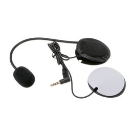 soft microphone Australia - Microphone Speaker Soft Accessory For Motorcycle Intercom Work with 3.5mm-plug Auto Accessories