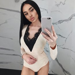 Designed Hot Suits Australia - European designer design new hot fashion personality classic lace soft one-piece underwear club party nightclub ladies sexy can be matched w