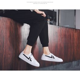 $enCountryForm.capitalKeyWord Australia - 2019 fashion new strapless casual shoes for men small white shoes summer breathable board shoes Korean version trend casual