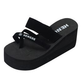 $enCountryForm.capitalKeyWord Australia - SIKETU Women Slippers in Summer Wear Thick Crust With flowers Flip Flops Female Cool Slippers Fashion Beach Shoes Sandals A30