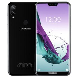 doogee mobiles Canada - Doogee N10 3GB 32GB Mobile Phone Face Unlock Fingerprint ID 5.84'' 1080*2280 FHD+19:9 Display 16MP 4G LTE OTG Android 8.1 Phone