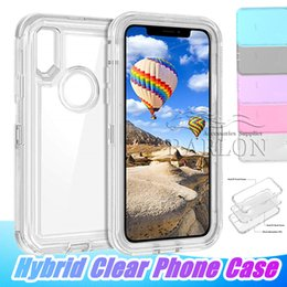 Discount clear heavy duty plastic - For Samsung S10 E Plus Hybrid Clear Heavy Duty Protective Dual Layer Shockproof Case with Hard PC Bumper Soft TPU Back f
