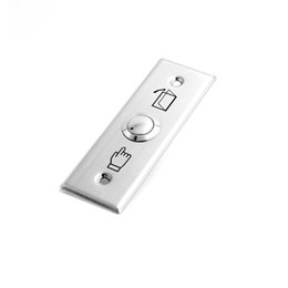push exit Australia - push Exit button for door Access control,Stainless Steel material ,Dimensions: 91Lx28Wx20H(mm) ,min:1pcs