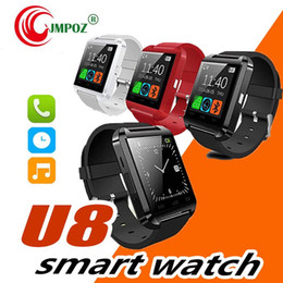 $enCountryForm.capitalKeyWord Australia - U8 Bluetooth Smart Watch U Watches Touch Wrist WristWatch Smartwatch for iPhone 4 4S 5 5S Samsung S4 S5 Note 3 HTC Android Phone Smartphones
