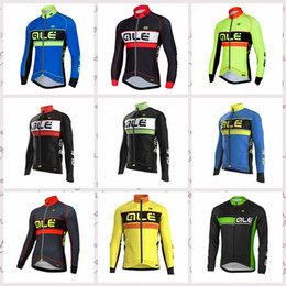 $enCountryForm.capitalKeyWord Australia - ALE team Mens Long Sleeves Bike Clothes Bicycle Cycle Tops Cycling Jersey Shirts Outdoor sports clothing Q81709
