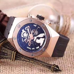 $enCountryForm.capitalKeyWord Australia - High quality luxury watch automatic mens watch fashion Swiss brown leather blue dial gold seller service super 904l v9 watch Mens Watches