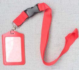 Key Cell Phone Badge Holder Australia - 10pcs Lanyards id Badge Holder For Cell Phone Accessories Neck Straps Keys Keychain Long Lanyard Business