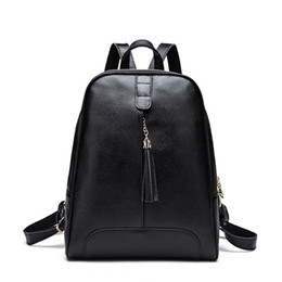 $enCountryForm.capitalKeyWord Australia - Decent2019 New Chunji Xia Product Genuine Leather Both Shoulders Woman Package Tassels Korean The Tide Layer Cowhide Backpack Fashion