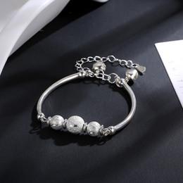 $enCountryForm.capitalKeyWord Australia - 2019 New Crystal Bead Bell Charm Bracelets & Bangles for Women Beads Bracelet Fashion Jewelry Girls Gift