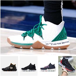 9d980f53995 2019 New Hot Sale Kyrie IV 5 Basketball Shoes Mens IV 5 Gold Championship  MVP Finals training Sneakers Sports Running Shoes Size 7-12