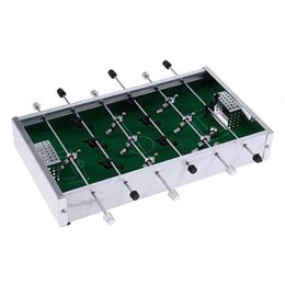 football games for kids Canada - Super sell-Mini Table Football Soccer Game Foosball Table Sports For Funny Leisure Indoor Entertainment Kids Gifts Green
