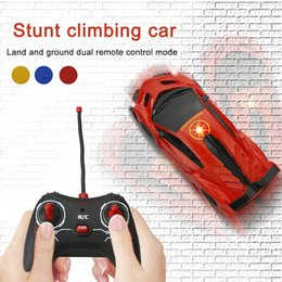 Rc Car Racer Australia - Remote Control Wall Climbing Racer RC Car Stunt Toys Antigravity Machine Kids Gifts @ZJF