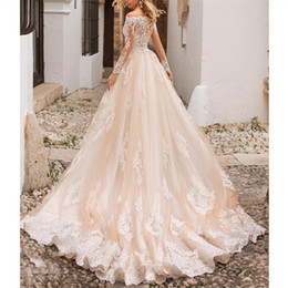 $enCountryForm.capitalKeyWord Australia - 2019 Fantastic Ivory Lace Mermaid Wedding Dresses Custom Sexy Bateau Long Sleeves Bridal Gowns Custom Detachable Train Bridal Dresses